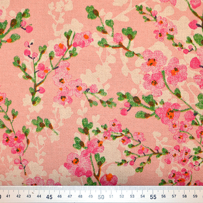 Deko, tisk, cvetlični, 15188-230