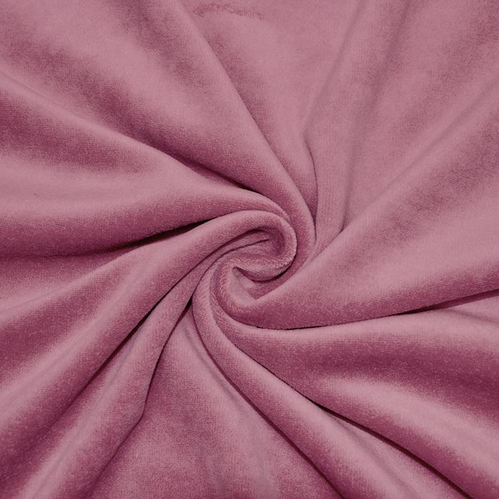 Pliš bombažen, 13348-113, roza