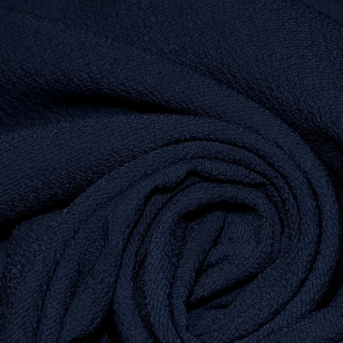 Šifon, krep, 17829-600, temno modra