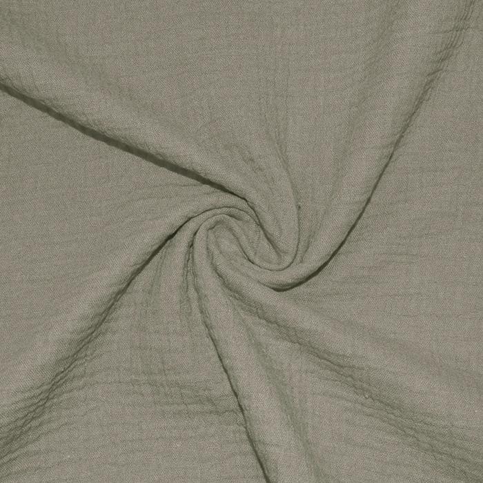 Tetra tkanina, dvojna, 18746-009, zeleno bež