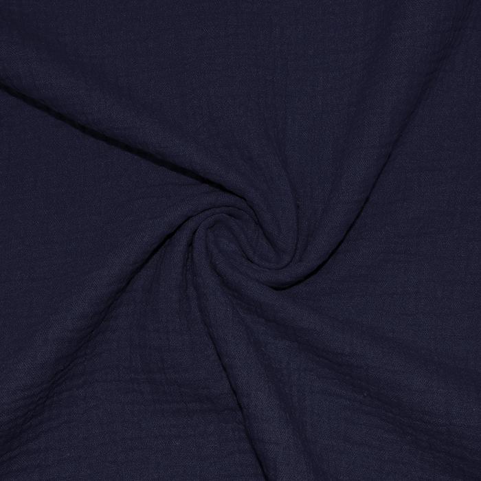 Tetra tkanina, dvojna, 18746-005, temno modra