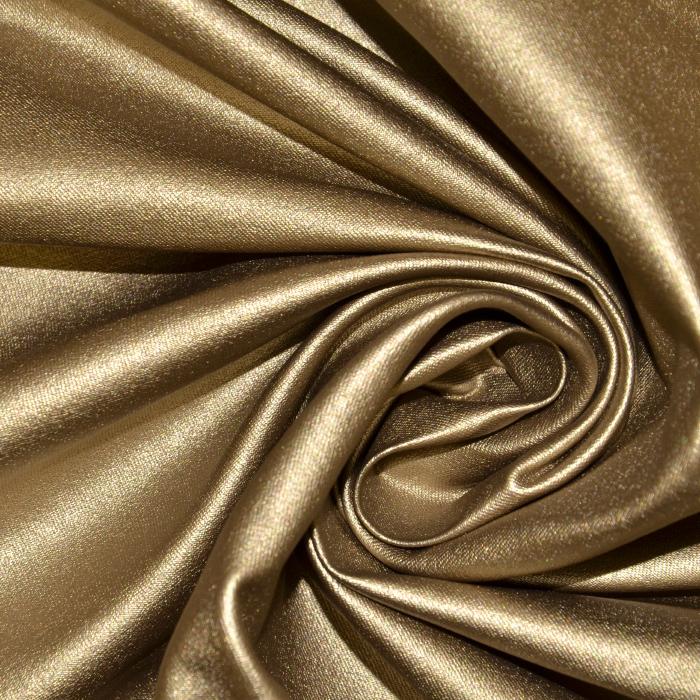 Bengalin, elastična tkanina z nanosom, 18815-075, zlata