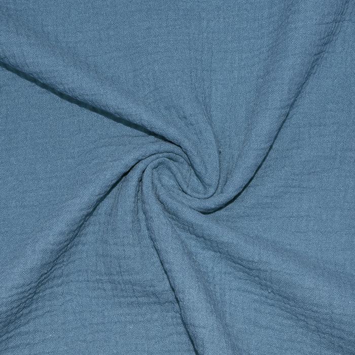 Tetra tkanina, dvojna, 18746-012, modra