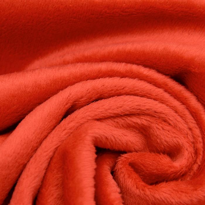 Velur coral, 18860-9, rdeča