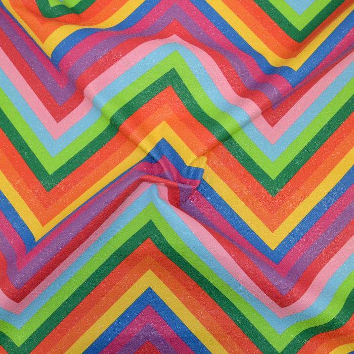 Umetno usnje, Rainbow, cik cak, 18871