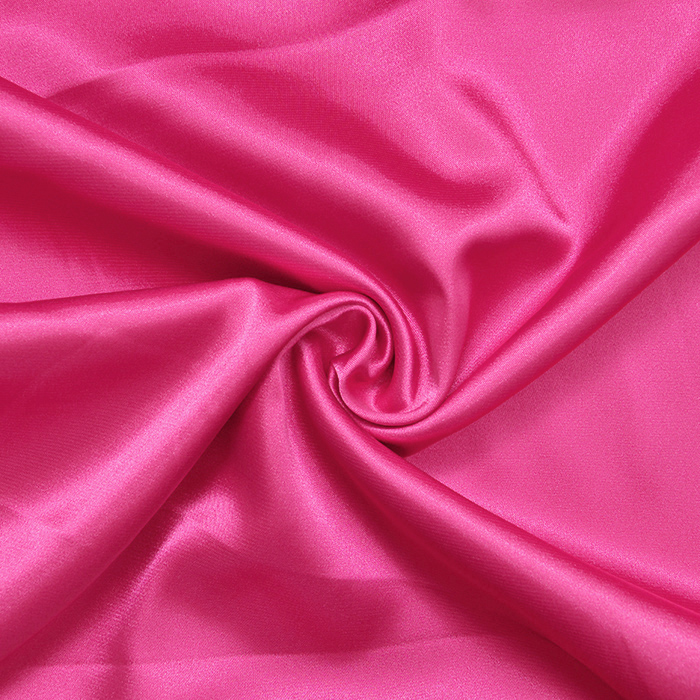 Saten, poliester, 3093-73, roza