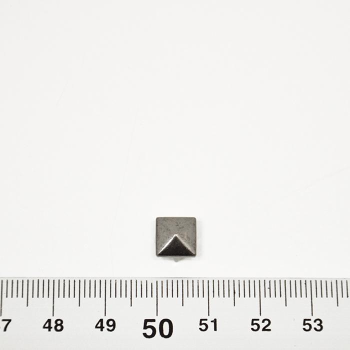 Neti, okrasni, piramida, 18046-105, črno srebrna