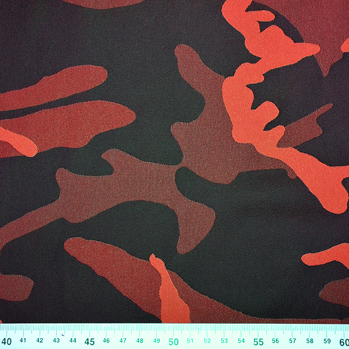 Tkanina vodoodbojna, kamuflažni, 18947-63, oranžna