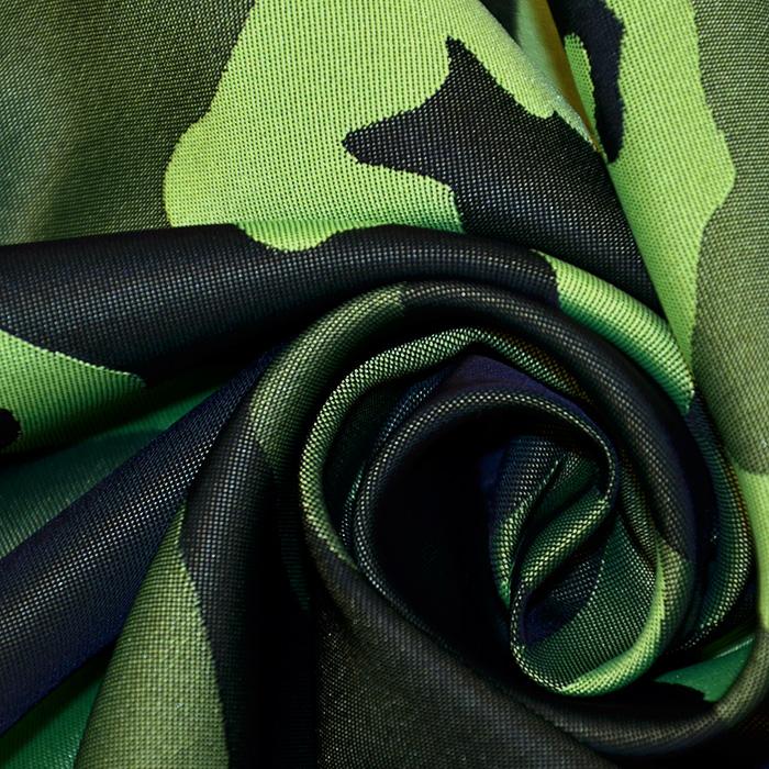Tkanina vodoodbojna, kamuflažni, 18947-64, zelena