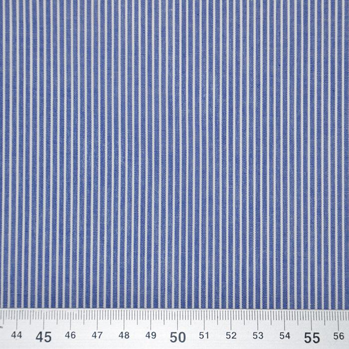 Bombaž, poplin, črte, 18995-4, modra