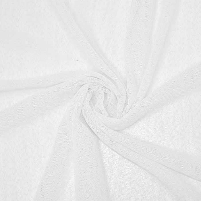 Mreža elastična, poliamid, 18999-3, bela