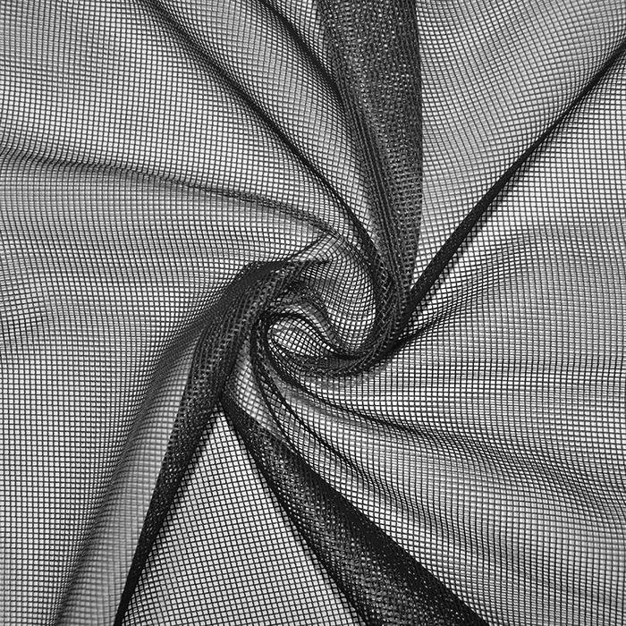 Mreža, poliester, 19000-1, črna