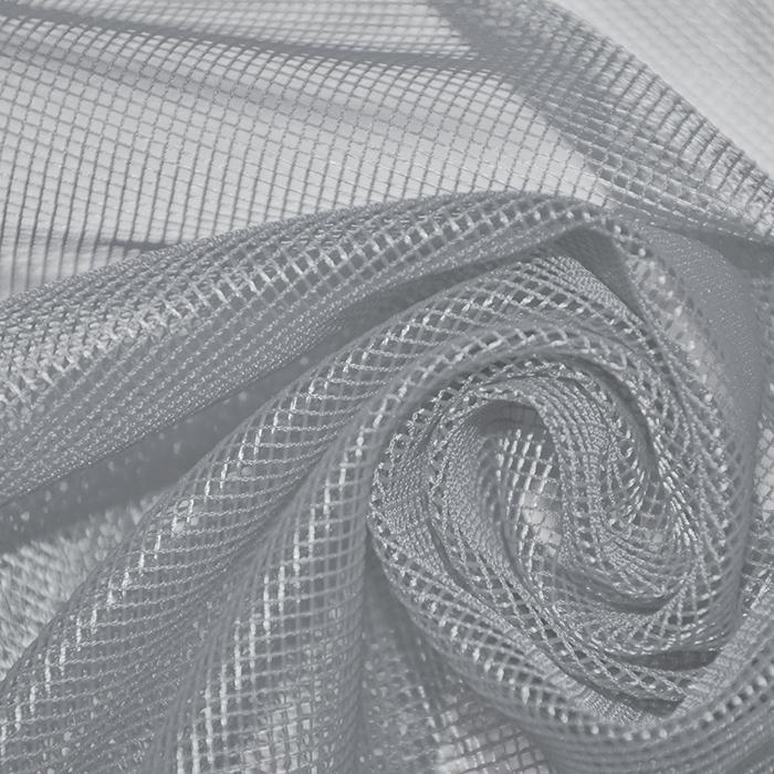 Mreža, poliester, 19000-10, siva