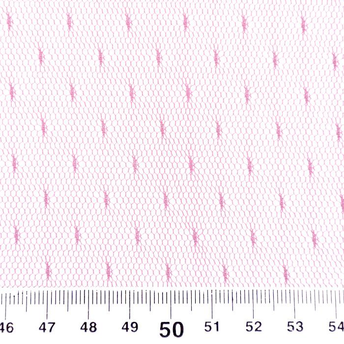 Mreža, prožna, pike, 19002-52, roza
