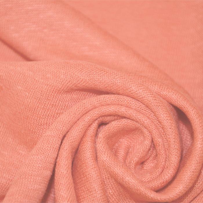 Pletivo tanjše, lan, 19004-1, roza