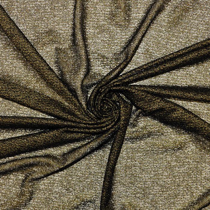 Pletivo, poliester, 18992-19, zlatna
