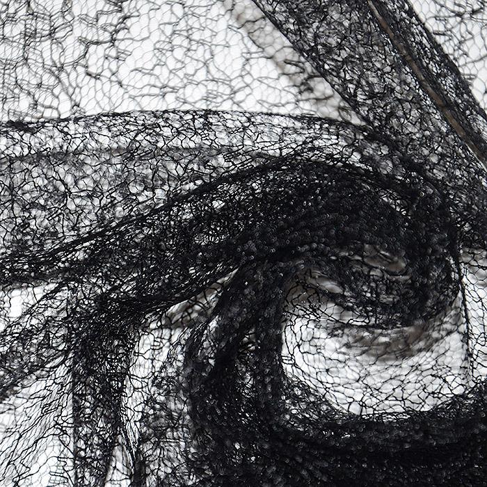 Čipka, 18469-1, črna
