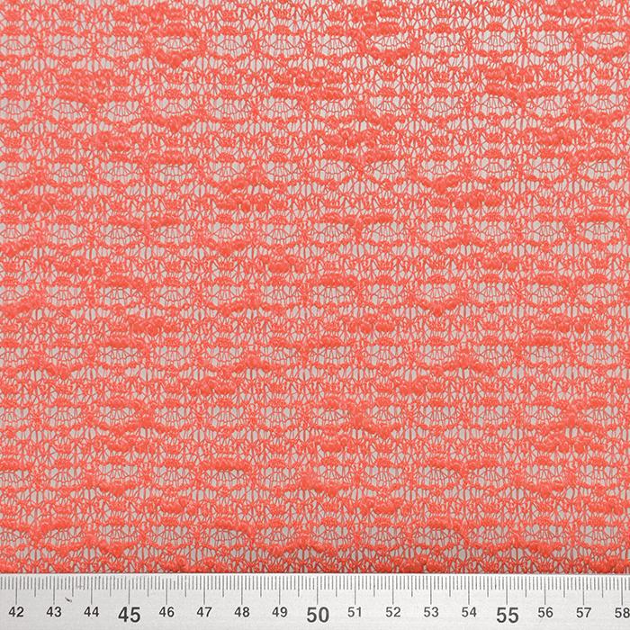Pletivo, bukle, 18992-26, koralna