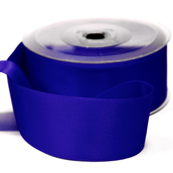 Traka, saten, 40 mm, 15461-1158, plava