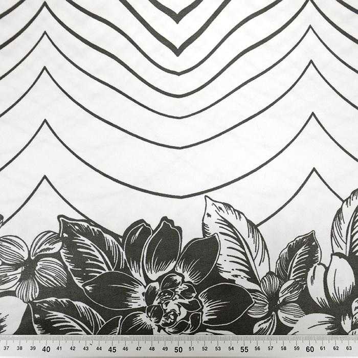 Šifon, poliester, cvetlični, 18992-49