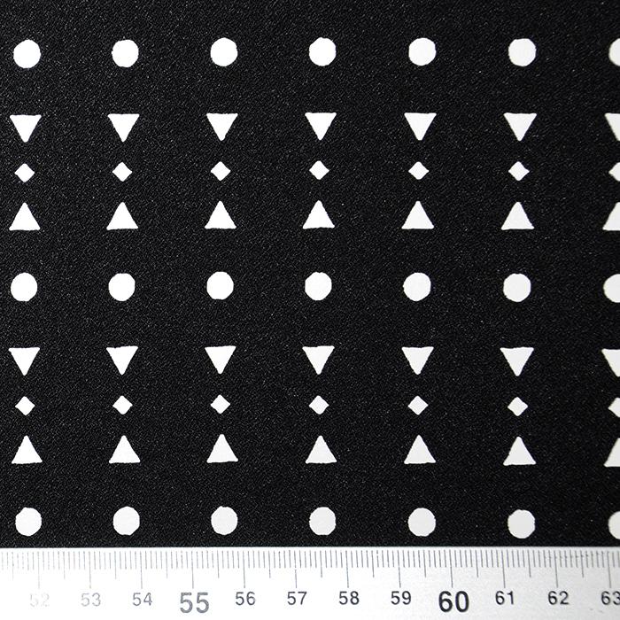 Šifon, krep, geometrijski, 18992-57