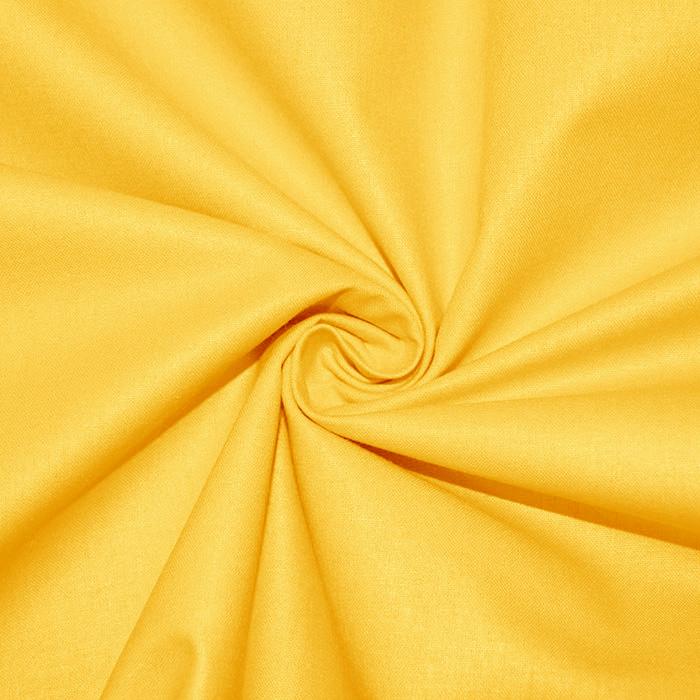 Bombaž, poplin, 16386-15, rumena