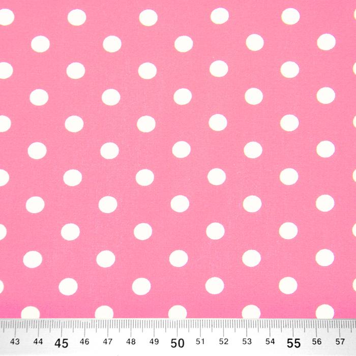 Pamuk, popelin, točke, 16048-512, ružičasta