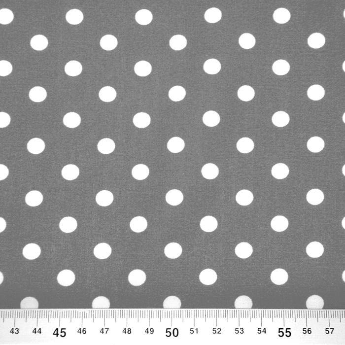Bombaž, poplin, pike, 16048-555, siva