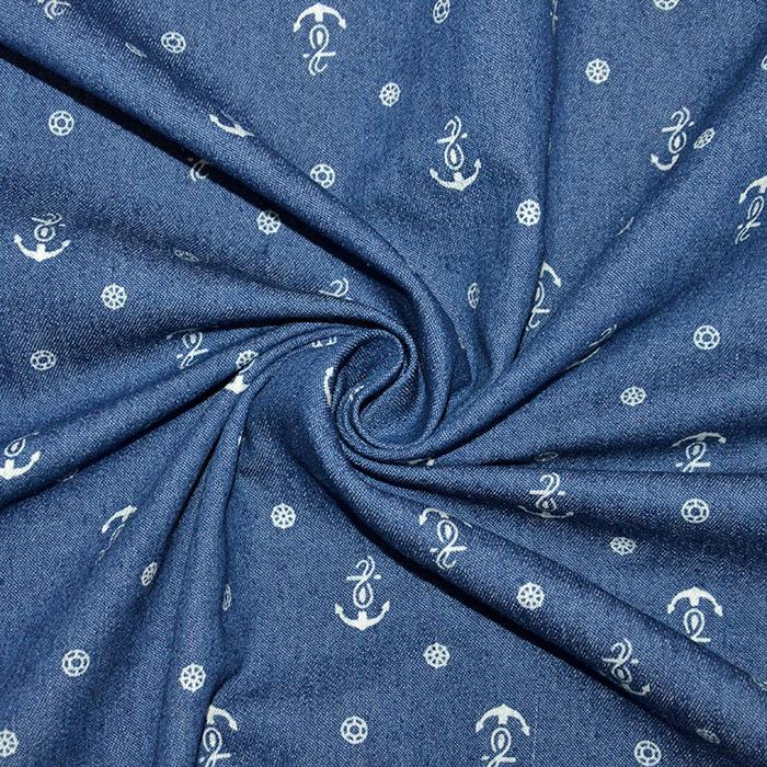 Jeans, srajčni, morski, 19133-003