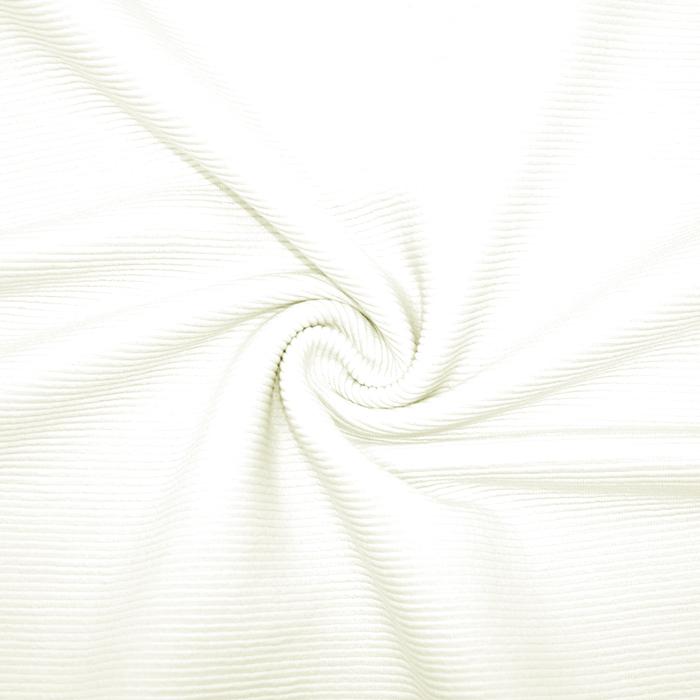 Pletivo, bombaž, rebrasto, 19310-020, bela