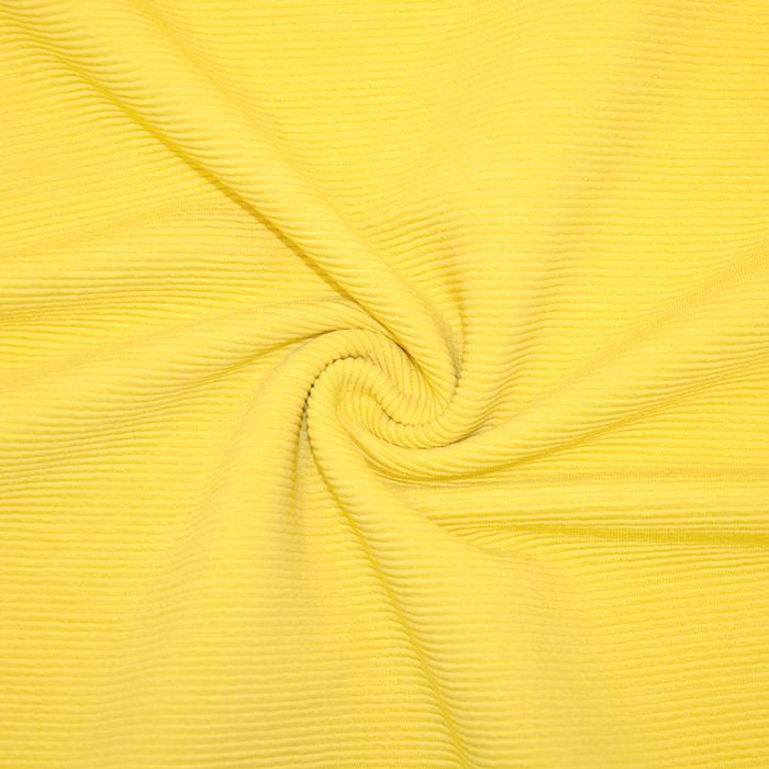 Pletivo, bombaž, rebrasto, 19310-570, rumena