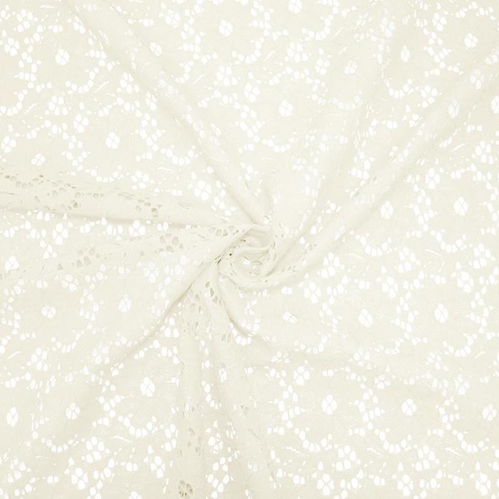 Čipka, elastična, 19156-051, krem