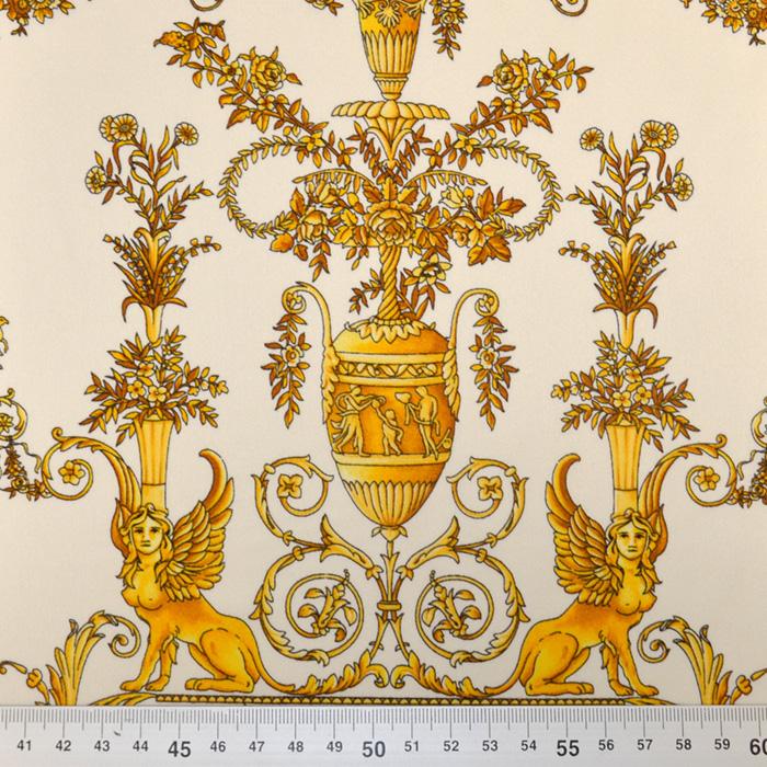 Svila, saten, ornamentni, 19427-001