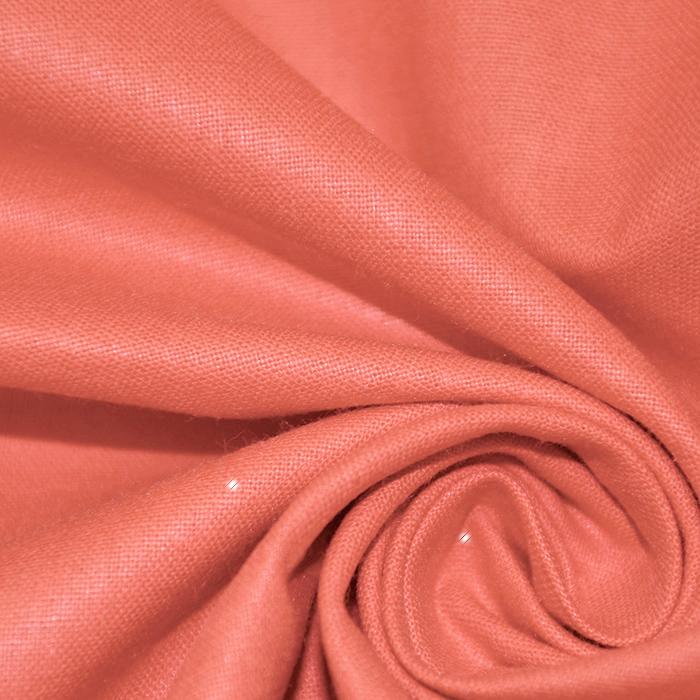 Bombaž, poplin, 16386-49, roza
