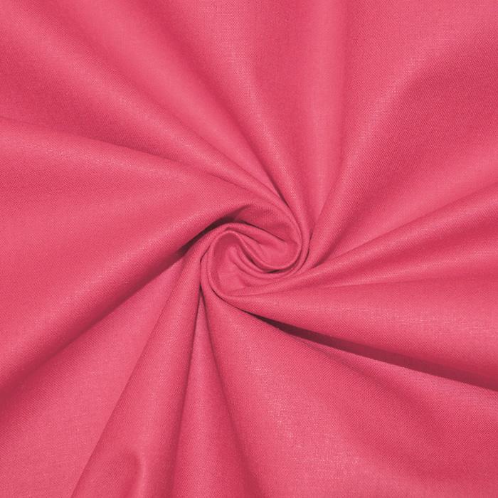 Bombaž, poplin, 16386-63, roza