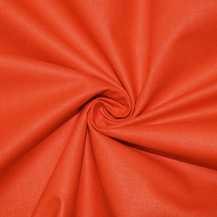 Bombaž, poplin, 16386-69, oranžna
