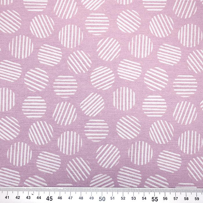 Deko, tisak, krugovi, 19463-042, ružičasta