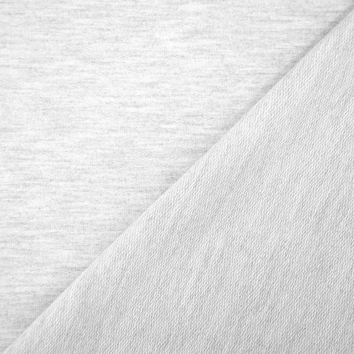 Triko materijal, melanž, 19203-242, siva