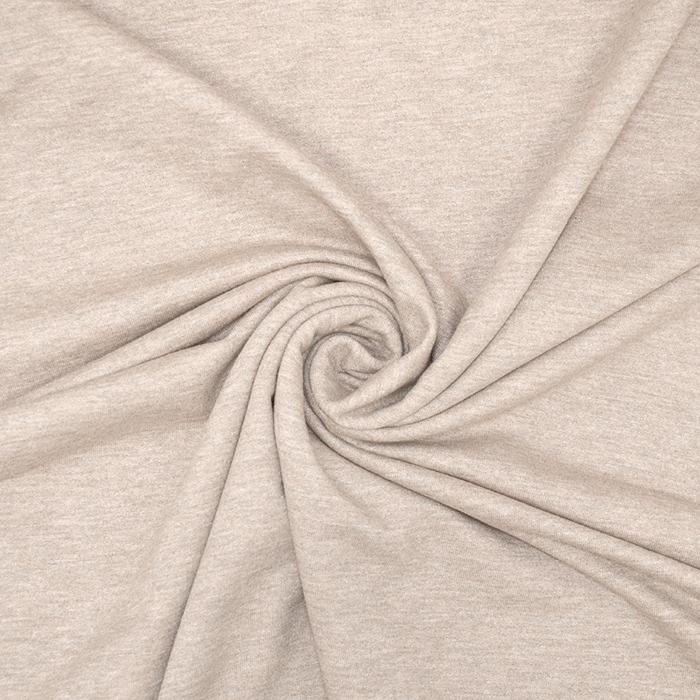 Triko materijal, melanž, 19203-243, sivo-ružičasta