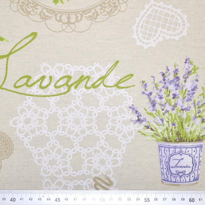 Deko, tisak, impregniran, cvjetni, 18277-6060
