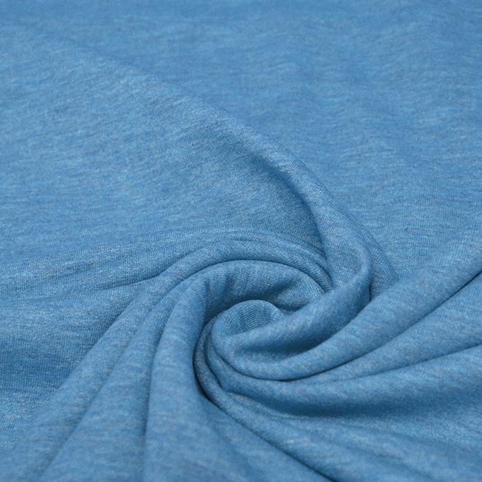 Jersey, melanž, 13336-250, modra