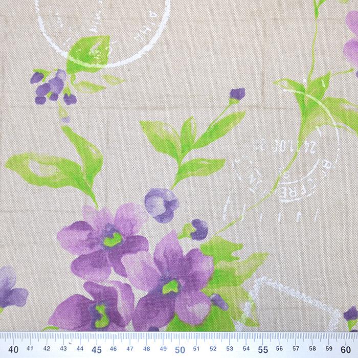 Deko, tisak, cvjetni, 15188-18