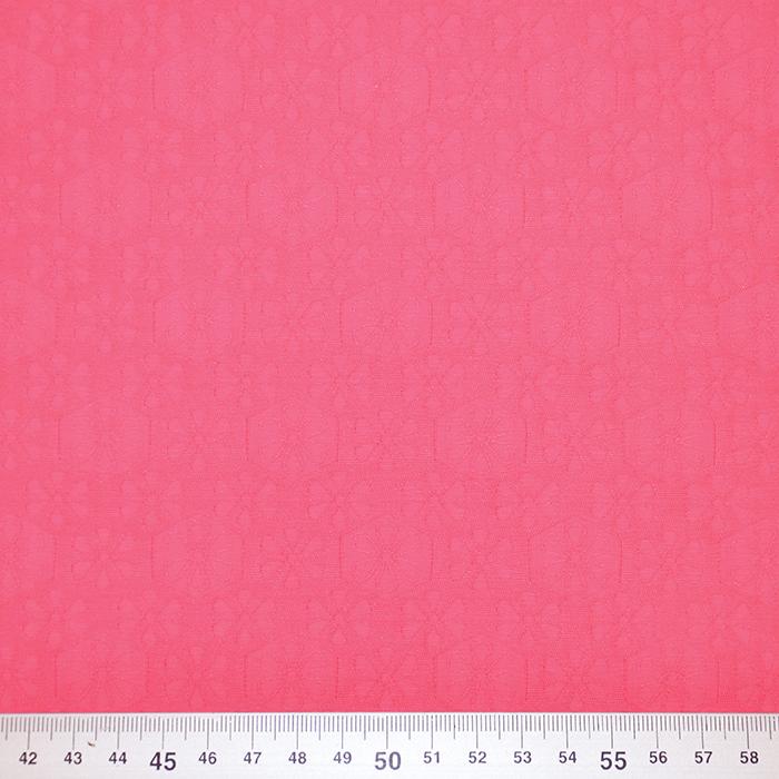 Žakard, obojestranski, cvetlični, 19418-5602A, roza