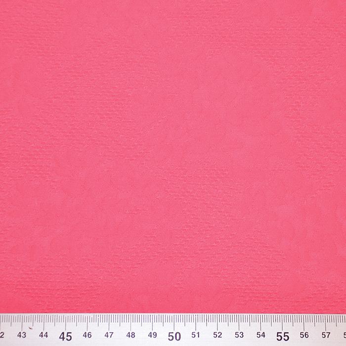 Žakard, obojestranski, cvetlični, 19418-5602B, roza
