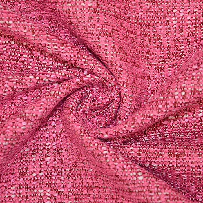 Deko žakard, melanž, 19606-009, roza