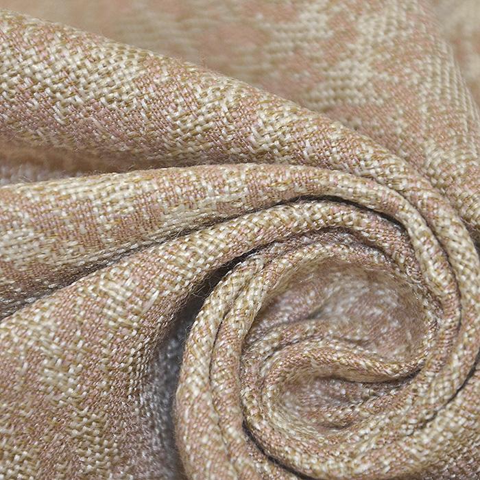 Deko žakard, geometrijski, 19641-003, bež roza
