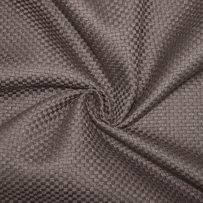 Deko žakard, karirast, 19621-603, rjava