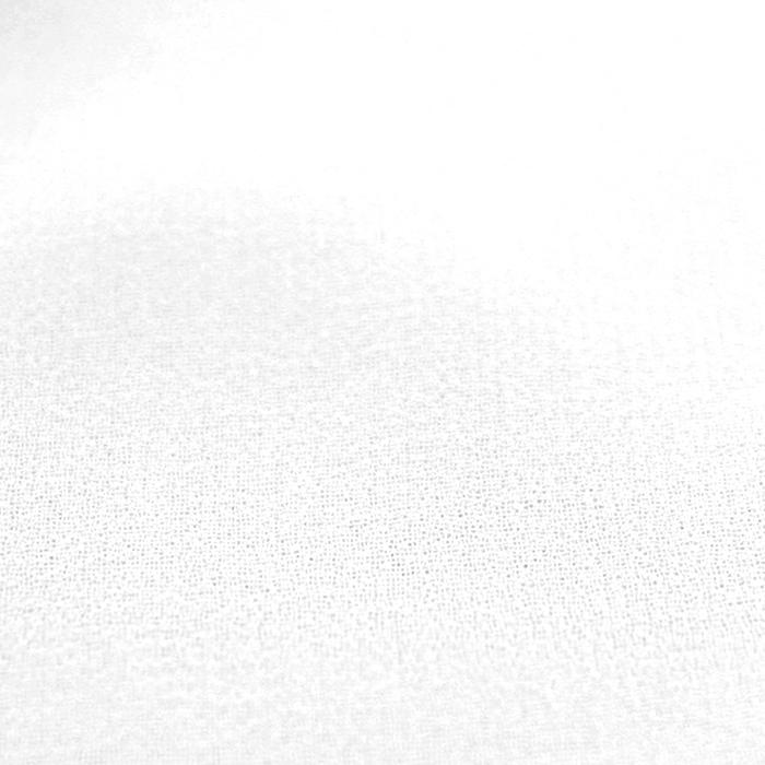 Šifon, poliester, 15174-2001, bela