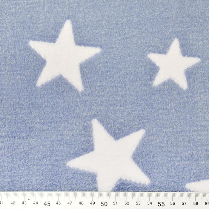 Velur coral, obojestranski, zvezde, 15986-978