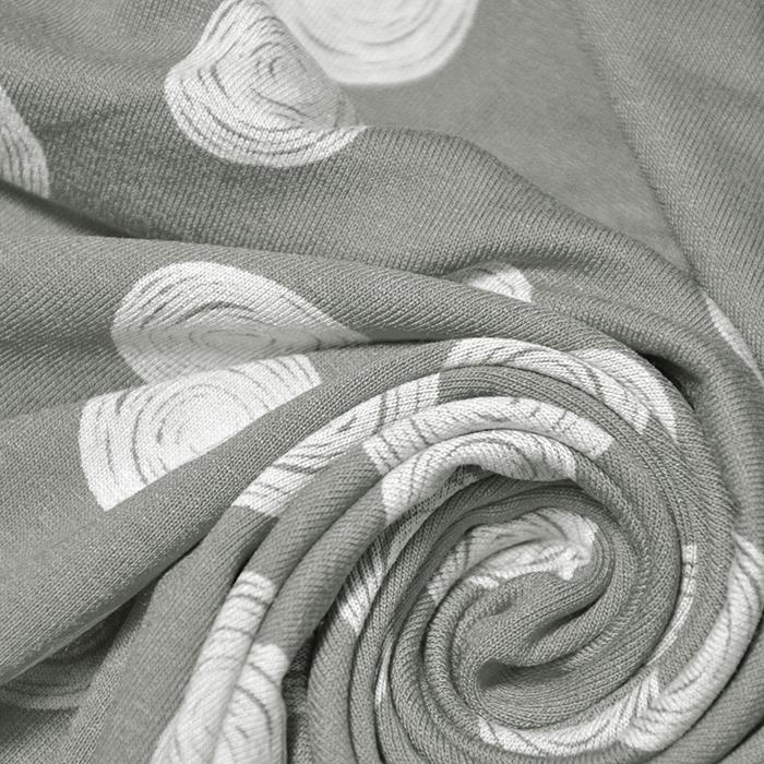 Jersey, viskoza, pike, 19711-026, sivo zelena